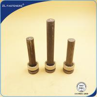 Buy cheap BS5400 Shear Stud Connectors For Steel Structural Building / Bridge product