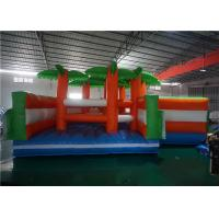 Buy cheap Amusement Park Commercial Inflatable Bounce House Tunnel Shaped Design Reliable product
