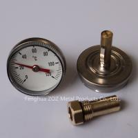 Radiant Heating Manifold Temperature Gauge