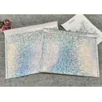 Buy cheap Commercial Metallic Foil Custom Bubble Wrap Envelopes Internal Anti - Static Bubble Film product