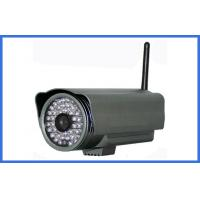 Buy quality 1 / 3 SONY CCD 700TVL Wireless IP Cameras , Waterproof P2P IR 30M Bullet Cam at wholesale prices