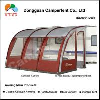 Buy quality Motorhome Caravan Porch Awnings large family tent with Fiberglass Pole at wholesale prices