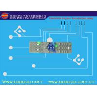 Buy cheap Embossed Buttons Tactile Membrane Switch And Panel With Metal Dome product