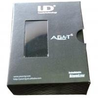 Buy cheap Black specialty paper box for battery with UV logo and EVA insert product