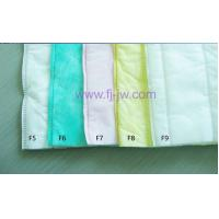 Buy cheap Synthetic Filter Media Rolls Ultrasonic Sealed for Pocket Filter from wholesalers