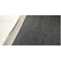 Buy cheap Deep Blue Medium Weight Denim Fabric , Crosshatch Mens Stretch Twill Fabric from wholesalers