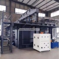 Large Scale Vertical ASTM E119 ISO 834 Flammability Testing Equipment for sale