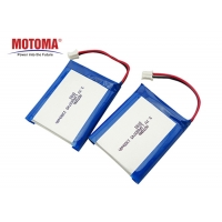 Buy cheap 3.7V 1300mAh  Medical Device Battery ISO9001 ISO14001 certificate product