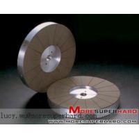 Buy cheap CBN Flat Wheel Tapered Both Side lucy.wu@moresuperhard.com product