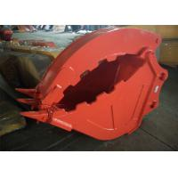 Buy cheap Excavator Grapple Hydraulic Bucket Thumb Grapple With Grating Bucket product