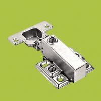 Buy cheap free samples cabinet hardware soft closing hydraulic hinge with Nickel finish product