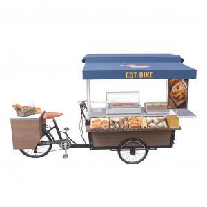 Buy cheap Folding Worktable Hot Dog Street Vending Cart 300KG Load product