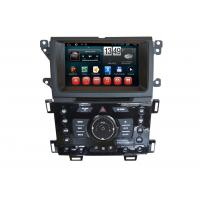 Buy cheap Wifi SWC RDS Car GPS Ford 2014 Edge Navigation 1024 x 600 Rearview Camera Android DVD Player product