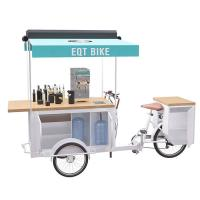 Buy cheap Customized Tea Drink Bike Full Function Configuration With High Load Capacity product