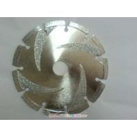 Quality smooth cutting electroplated diamond saw blade for marble for sale
