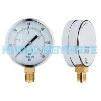 Buy cheap Chrome steel and brass material gas station tire pressure gauge measurement product