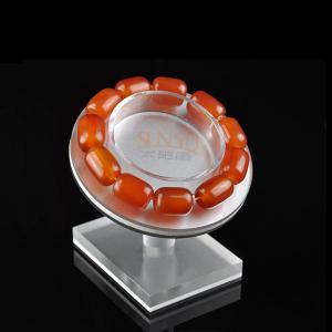 Buy cheap Floor Custom Jewellery Display Stands Slanting Acrylic Storage TraysBracelet Holders product
