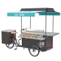 Buy cheap Customization accepted BBQ cart barbecue grill outdoor food bike product