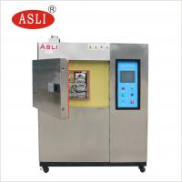 Three And Two Zone Thermal Shock Cycle Test Chamber Hot Cold Impact Testing Machine for sale