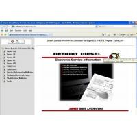 Buy quality Detroit Diesel Power Service Manuals Auto Diagnostics Software 40E / 50 /55 / 638 / 900 at wholesale prices