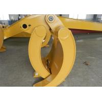 Buy cheap Wearable Steel Mechanical Excavator Grapple Bucket with Rod product