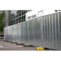Buy cheap Galvanized Powder Coated Temporary Hoarding Panels In Ausrtalian Buliding Site product