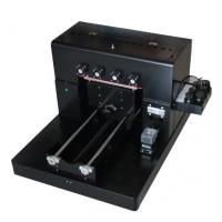 Buy cheap T - Shirt Small Flatbed Inkjet Printer , A3 Uv Flatbed Printer For Mobile Phone from wholesalers