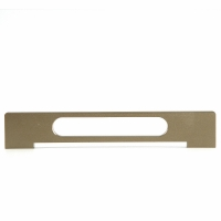China 247mm Polished Gold Aluminium Kitchen Handles for sale