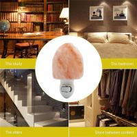 China Euro Hand Carved Natural Shape Pure Crystal Himalayan Salt Rock Night Light Wall Lamp Hotel Decoration Air Purifier on sale