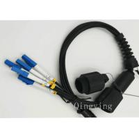 Buy cheap PDLC 2 / 4 / 6 Cores Fiber Optic Outdoor Cable Insertion Loss < 0.3dB product