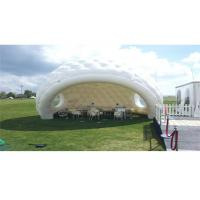 Buy cheap Dome Inflatable Event Tent White Color 9 Meters Diameter PVC 0.55mm Tarpaulin product