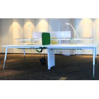 china factory good quality european modern design office furniture executive desk  with metal frame