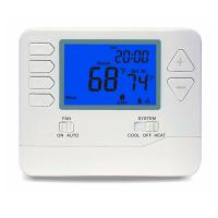 Buy cheap 2 Heat / 2 Cool 24V AC Digital Room Thermostat Temperature Controller Air Filter from wholesalers