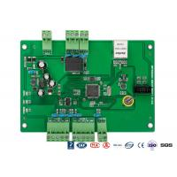 TCP / IP Web Based Single Door Access Control Board For Turnstile Barrier Gate