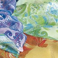 China Opal-Finished Georgette Crepe (Silk Fabric) on sale