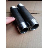Black Seamless steel pipe Nipples SCH40,SCH80