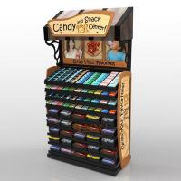 Buy cheap Retail Custom Floor Display Stands For Candy Sugar / Snack Advertising product