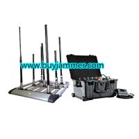 Buy cheap 300W 4 to 8bands High Power Drone Jammer and Jammer up to 1500m product