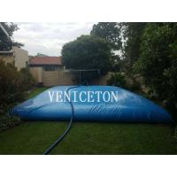 Buy cheap 35,000L PVC Pool Solutions Water Storage Tank/ Water Storage Bladder product