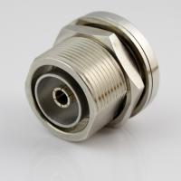 Buy cheap L29 RF Coaxial Mini Din Coax Connector Nickel Plated 0~7.5GHz Frequency product