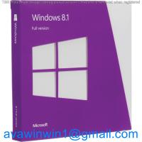 Buy cheap Korea Multi Language Microsoft Windows 8.1 License Key OEM Full Package For Computer product