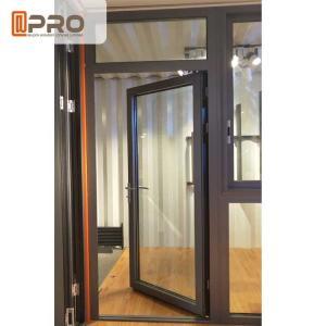 Buy cheap Customized Design Aluminium Hinged Doors For Construction Buildings product