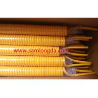 Buy cheap High spring memory PU coil tube with SGS standards, OD8mm, color Yellow product