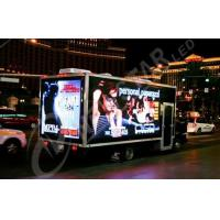 China Custom Square Mobile Truck Advertising LED Display Screens With High Resolution on sale