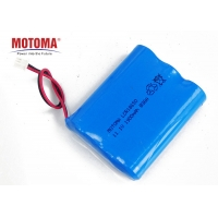 Buy cheap 11.1V Lithium Ion Cylindrical Battery , 18650 Rechargeable Battery Pack For Toy Car product