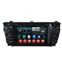Buy cheap 2014 Toyota Corolla GPS Navigation Android DVD Player 7inch Touch Panel product