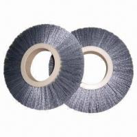 Buy cheap Steel Brush Wheel for Industrial Use, Customized Specifications are Welcome product