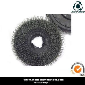 China Nylon abrasive brushes, 17 inch floor cleaning brush on sale