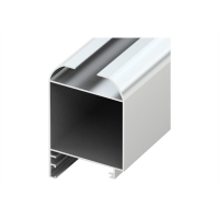 Buy cheap Silver Anodized 6m 0.8mm Aluminum Door Frame Extrusions product