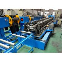 China Galvanized Perforated Cable Tray Roll Forming Machine With Pre - Cut Device on sale